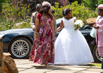 Cyril and Noma's wedding